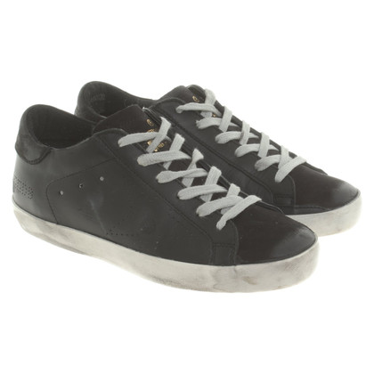 Golden Goose Sneakers in zwart