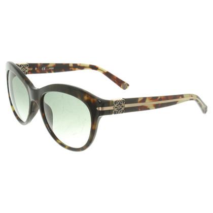 Loewe Sonnenbrille mit Leoparden-Muster