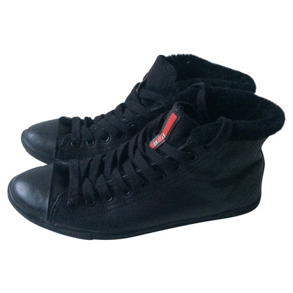 Prada High Top Sneakers