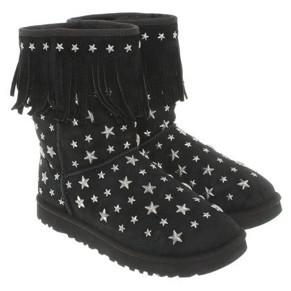 UGG & Jimmy Choo Ankle boots with star application