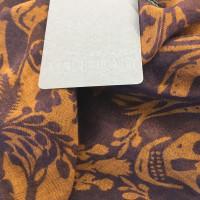 Alexander McQueen Kashmir mengen doek met Skuills