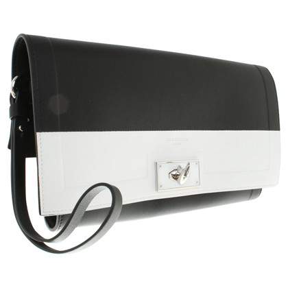 Givenchy clutch in black and white