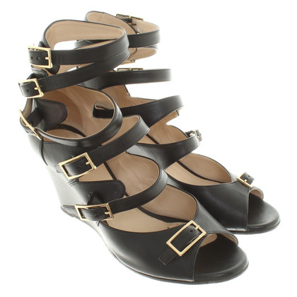 Chloé Wedges of leather
