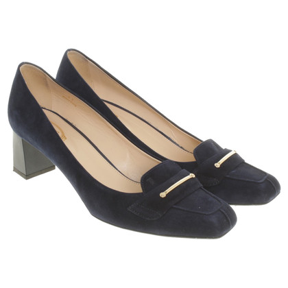 Tod's pumps in blu scuro