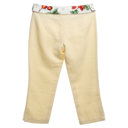 Dolce & Gabbana trousers in yellow