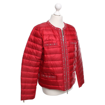 Michael Kors Quilted jacket in red