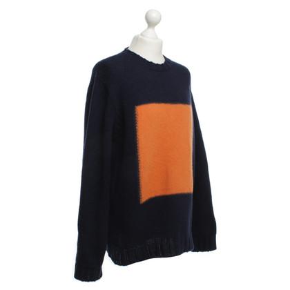 MSGM Pullover in maglia fantasia