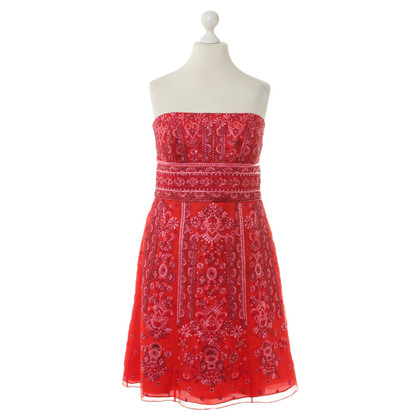 Carolina Herrera Red evening dress