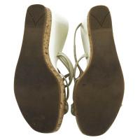 Prada sandali di pelle verniciata