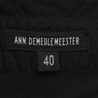 Ann Demeulemeester Blusa in nero