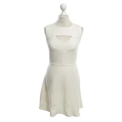 French Connection Sommerkleid in Creme