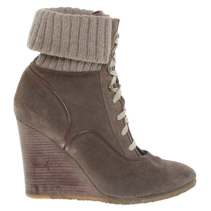Chloé Wedges in brown