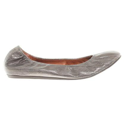 Lanvin ballerine color argento