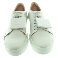 Acne Sneakers in mint green