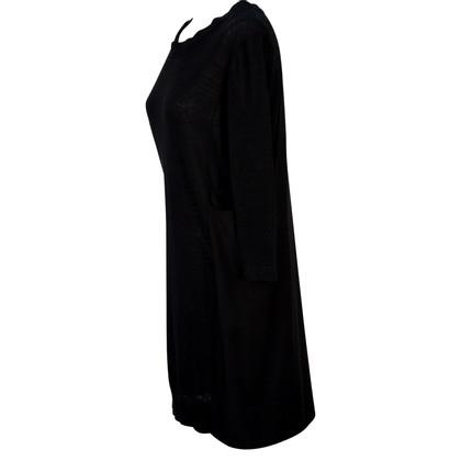 Cos Gebreide jurk zwart