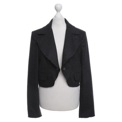 Dolce & Gabbana Kurzer Blazer in Grau