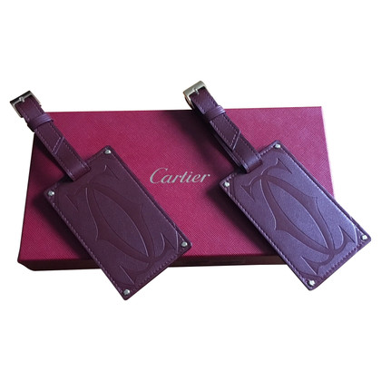 Cartier 2 luggage tags