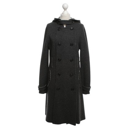 Christian Dior Cappotto Houndstooth Double Face