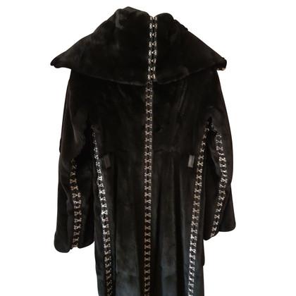 Dolce & Gabbana Cappotto di pelliccia donnola