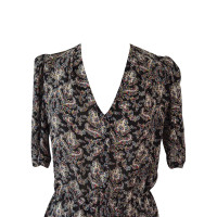 Sandro Short dress in paisley print