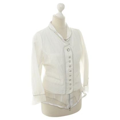 Marithé et Francois Girbaud Jacket in white
