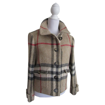 Burberry Short checked jacket
