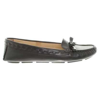 Bogner Moccasins in black
