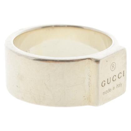 Gucci Anello con logo impresso