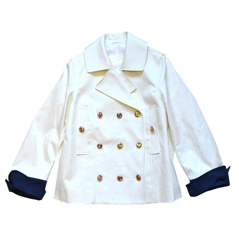 Acne Blazer jas met gouden knopen