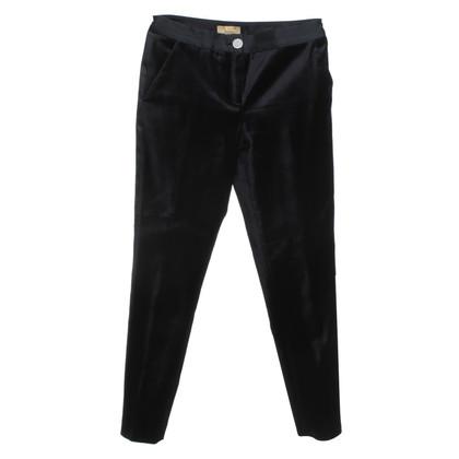 Ted Baker Velvet trousers in black