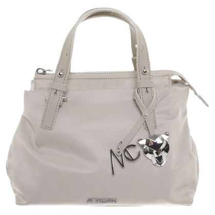 Marc Cain Hand bag with logo-pendant