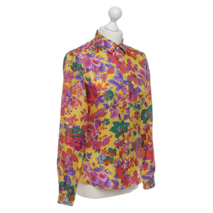 Etro Silk blouse with floral print