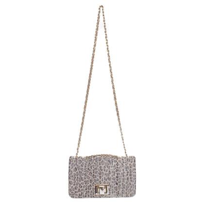 Stuart Weitzman Leather handbag with pattern