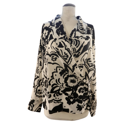 Versace Blouse with a floral print