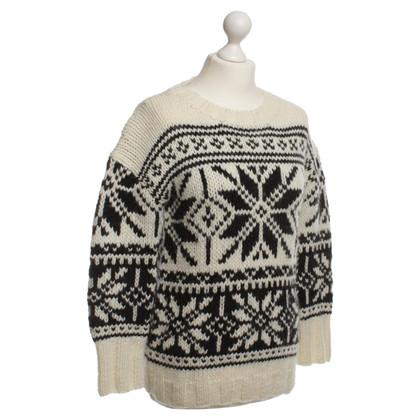 J. Crew Maglione del knit pattern