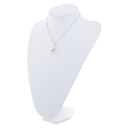 Christian Dior Necklace with logo-pendant