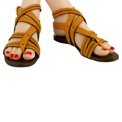 Burberry Sandalen in Orange