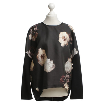 Giambattista Valli Patterned sweater in Multicolor