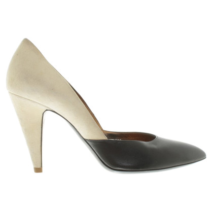 Balenciaga pumps in nero / beige