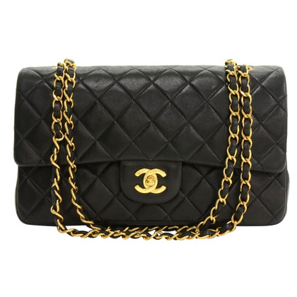 """Chanel """"2:55 Double Flap Bag"""" in Black"""