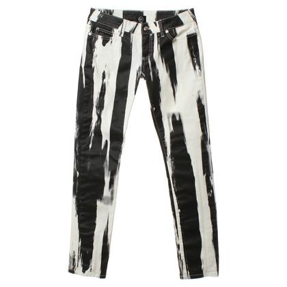 Alexander McQueen Jeans met streeppatroon