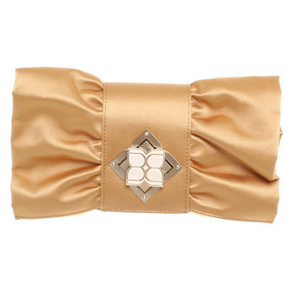 BCBG Max Azria Golden clutch