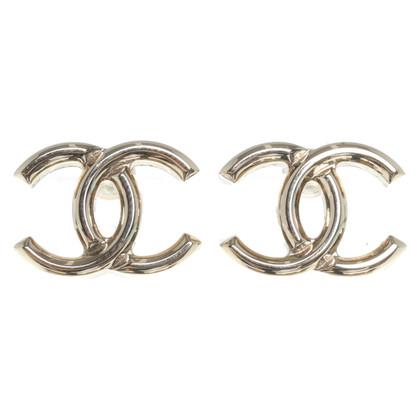 Chanel Oorbellen met logomotief