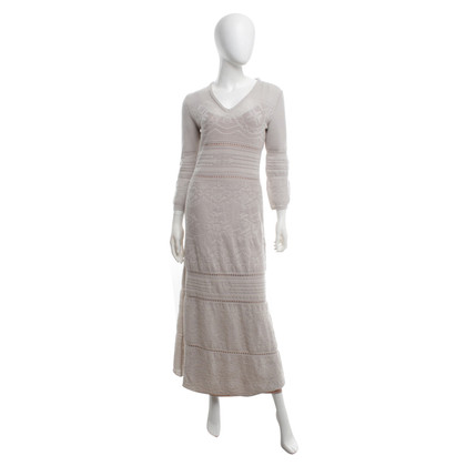 Alberta Ferretti Crochet dress in maxi length