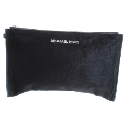 Michael Kors Black fur clutch