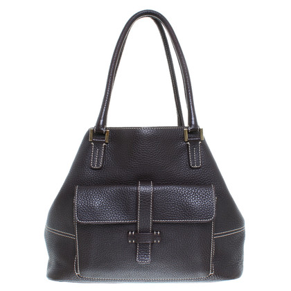 Loro Piana Leather handbag in Brown