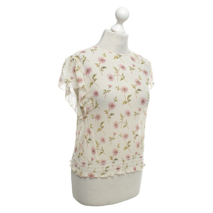 Red Valentino top with pattern