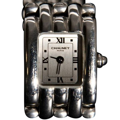 "Chaumet Clock ""Paris Khesis Acier Grand"""