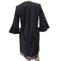 Moschino Kleid mit Schmuckstein-Besatz