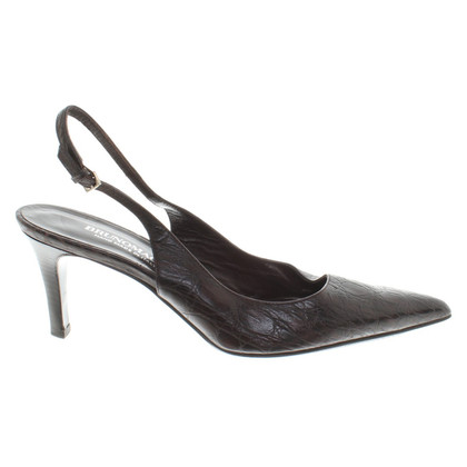 Other Designer Bruno Magli - pumps with embossing